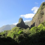 Iao Needle in the Iao Valley State Park