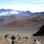 Mt Haleakala Crater