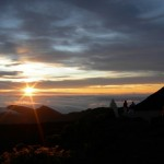 Sunrise on top of Mt. Haleakala - bring Warm clothing