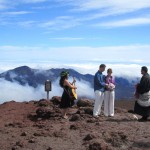Maui Wedding on top of Mt Haleakala